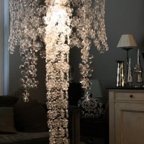 Cascading Soda Bottle Lancashire Chandeliers