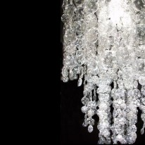 Rhapsody Lamp Recycles Hundreds of Plastic Bottles Into a Spectacular Display of Light