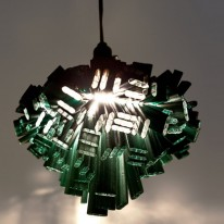 Stunning Decon Light Made from Discarded Fencing Materials