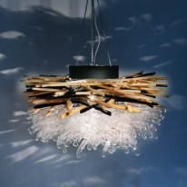 Hanger Chandelier Encourages DIY Over Disposal
