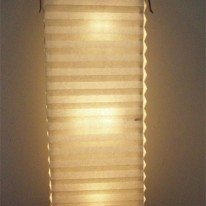 Lamp Made from an Old Accordion