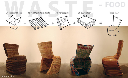Graypants' Gorgeous Recycled Scrap Chairs | Inhabitat - Green Design,  Innovation, Architecture,