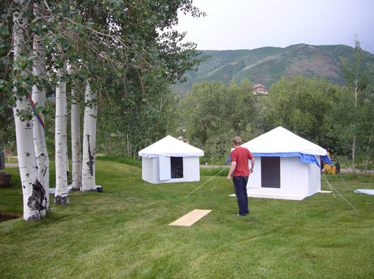 PREFAB FRIDAY: Global Village Shelters in Aspen
