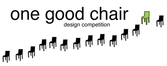 One Good Chair Competition, Lance Hosey, Cradle to Cradle, eco design, green design, sustainable design, green chair, eco chair, sustainable chair, eco furniture design, environmental furniture, green furniture design, sustainable furniture design, Chair design competition, chair contest