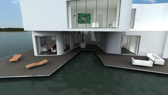 The Citadel: Europe's First Floating Apartment Complex