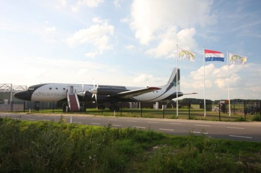 Beautiful East German Airplane Transformed Into Super Posh Hotel Suite