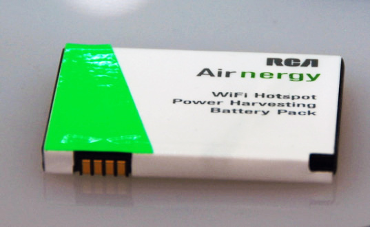 sustainable design, green design, green gadget, ces, airnergy, rca, wifi, power