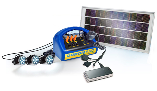 $130 Duron Solar System Powers Rural Indian Homes. Design