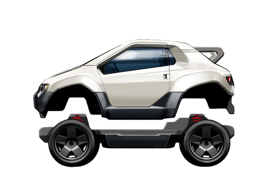 Awd Electric Car >> Design Your Own Electric Vehicle With The Trexa Ev Platform