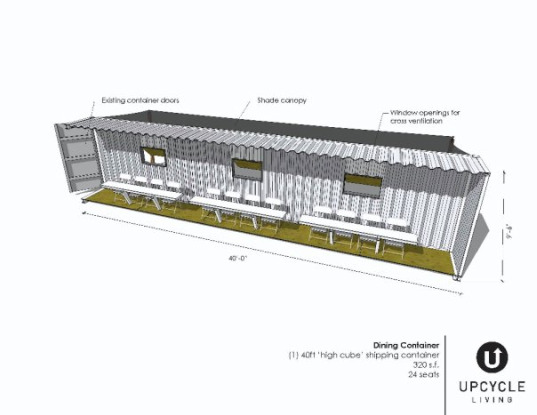Upcycle Living Rolls Out Affordable Shipping Container Housing