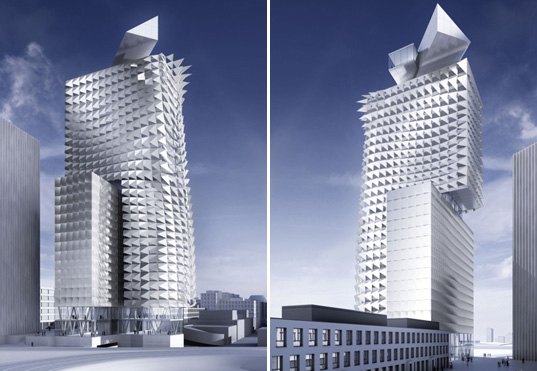 wind power, Austria, Coop Himmelb(l)au, energy-active façade, MIPIM, MIPIM Architectyre Review, Solar Power, Sustainable buildings, Town Town Office Tower