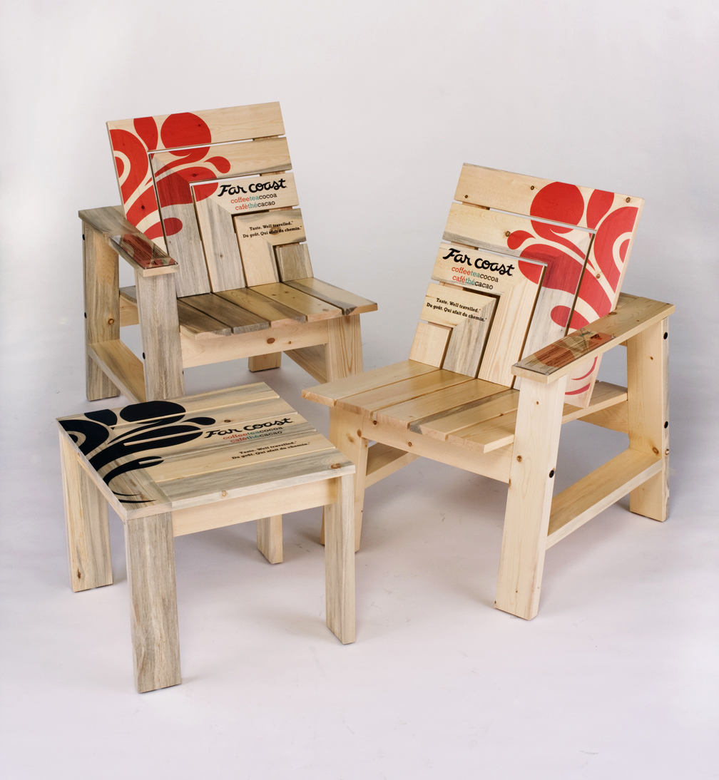 Furniture Design Vancouver far coast furniture raises awareness of the pine industry at the