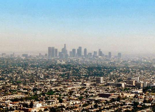 how to get around smog in california