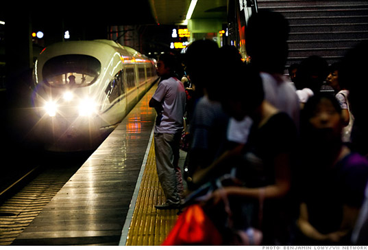 China unveils the world's fastest train by Benjamin Lowy