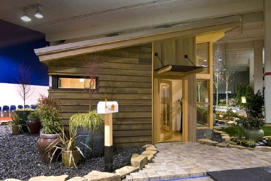 Fabcab Debuts Timberframe Model At Seattle Home Show