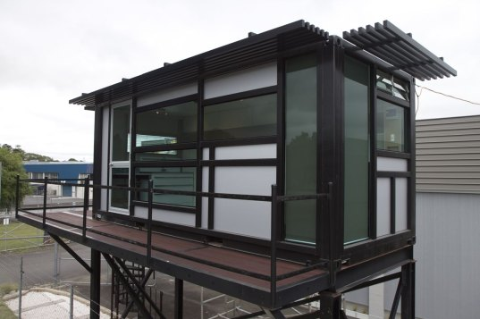 prefab, prefab friday, one cool habitat, new zealand, shipping container, shipping container prefab, shipping container architecture, customizable, reuse, recycled materials, energy efficient, efficient insulation, eco design, sustaianble design, green design, sustainable building