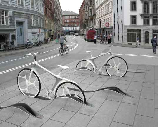 bikes, bike, bicycle, bike sharing, bike sharing system, real-time tracking, GPS, RAFAA, copenhagen, denmark, eco desgin, green transporation, urban design, sustainable design,