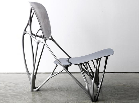 joris laarman, furniture, interiors, bone chair, biomimicry, sustainable design, green design