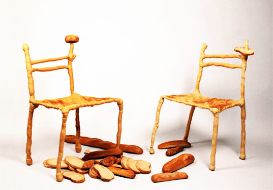 Panpaati Furniture Made From Bread Is Literally Good Enough To Eat