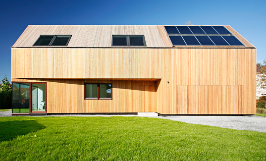 Leipzig Germany, Atelier st, sustainable design, green design, sustainable architecture, green building, passive house, energy efficient architecture, green residence