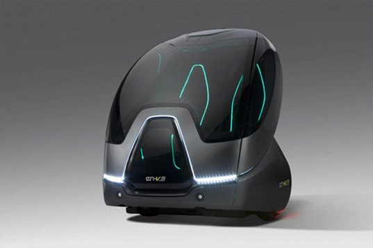 GM Reveals EN-V All Electric Vehicle That Could Drop You ...