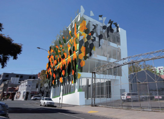 Crazy Pixel Building To Be Australia S First Carbon