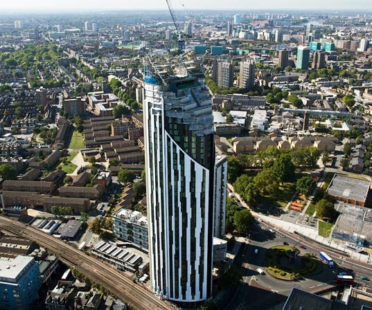 strata tower, sustainable design, green building, green design, the razor, london, uk, world's first wind turbine skyscraper, renewable energy, sustainable architecture