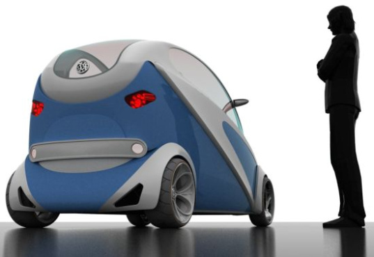 A Zero Emission Concept Micro Car For Urban Travel Inhabitat