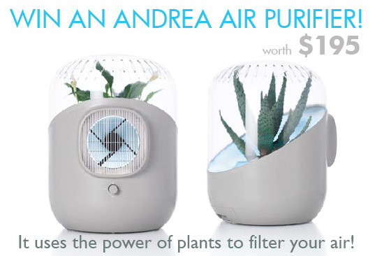 WIN an Beautiful ANDREA Houseplant Air Filter (worth $195)! | Inhabitat -  Green Design, Innovation, Architecture, Green Building