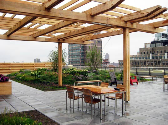 sustainable design, green design, green roof, green building, sustainable architecture, urban heat island effect, 250 hudson