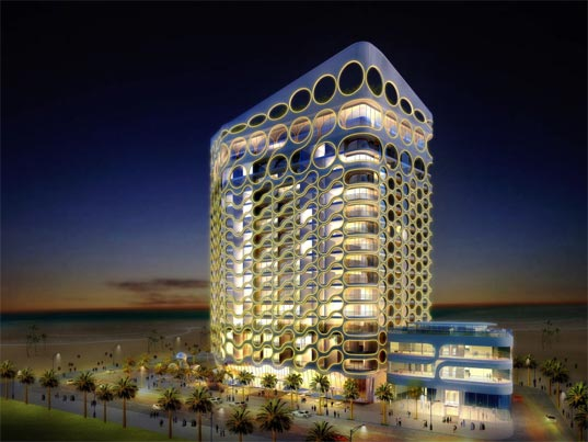 James Law Cybertecture Dubai Waterfront Sustainable Future Architecture Intelligent Buildings