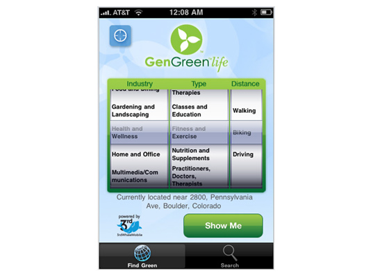 sustainable design, green design, greener gadgets, sustainable lifestyle, green iphone app, Top 7 Best Green iPhone Apps, 3rd Whale Find Green iPhone App