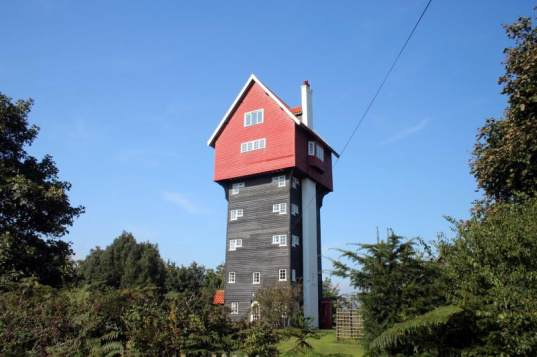 House in the Clouds is an Old Water Tower Converted into a Bed & Breakfast!