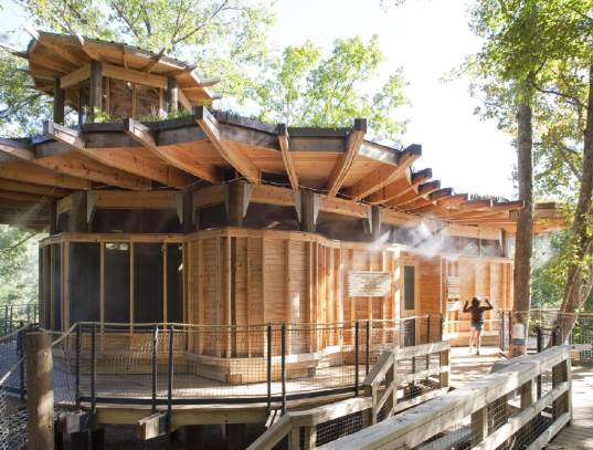 Tree House Plans For Adults green treehouse provides an incredible learning playground camp
