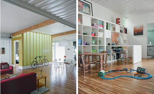 Cordell shipping container house inhabitat green design innovation architecture green - Houston container homes ...