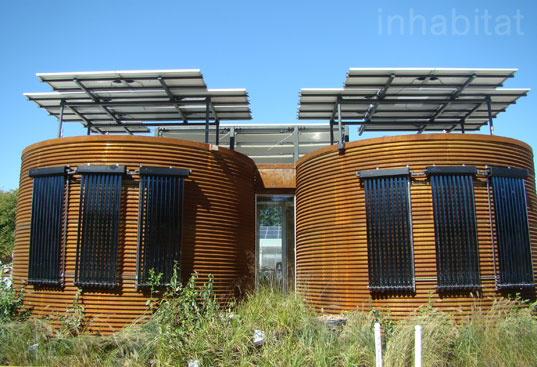 Cornell Silo House, solar decathlon, green building, sustainable building, green houses