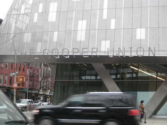 sustainable design, green design, green building, 41 Cooper Square, East Village, Gruzen Samton, LEED platinum, Morphosis, new york city, sustainable architecture, The Cooper Union, Thom Mayne