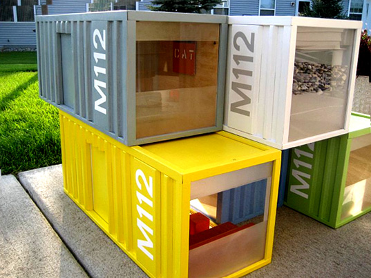 Shipping Container Design m112 miniature shipping containers | inhabitat - green design