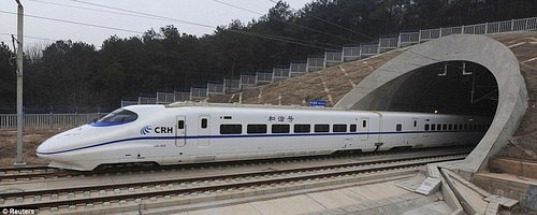 China Unveils the World's Fastest High Speed Train
