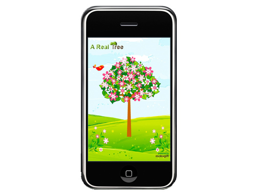 sustainable design, green design, greener gadgets, sustainable lifestyle, green iphone app, Top 7 Best Green iPhone Apps, A Real Tree iPhone App