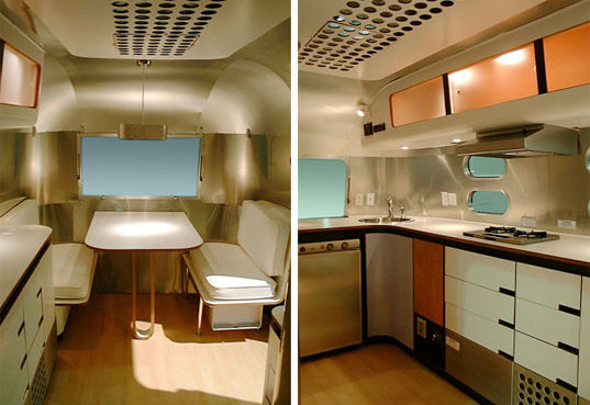 Prefab Mobile Friday Airstream Bambi Trailer
