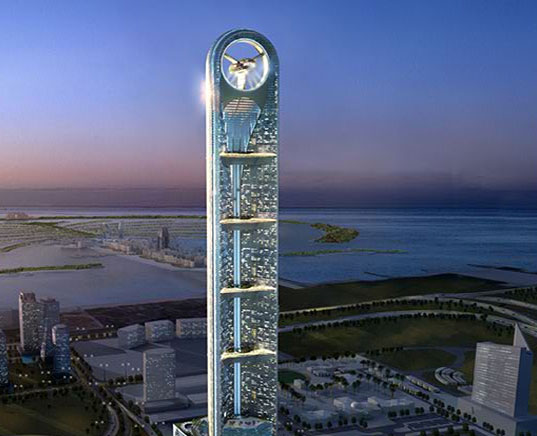 anara tower, greenwashed buildings, non green buildings, eco buildings, greenwashed architecture, fake green buildings