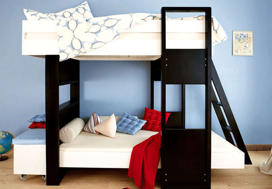 Most people view bunk beds with fondness and a sense of nostalgia.