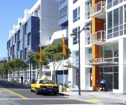 New York Developers To Build Suburban Style Mall In The: Arterra Green High-Rise Opens In San Francisco