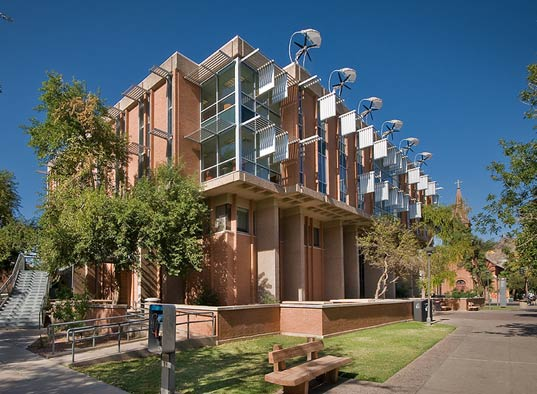 Arizona State University, ASU, Global Institute of Sustainability, Sustainable Building, LEED Silver, Gould Evans Associates, Lord Aeck and Sargent