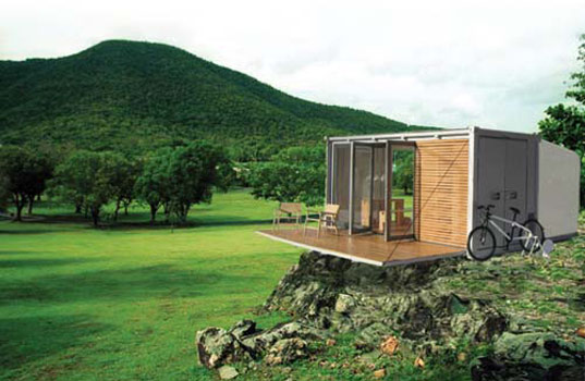Merveilleux All Terrain Cabin, Bark, Canadian Design, Prefab, Off Grid