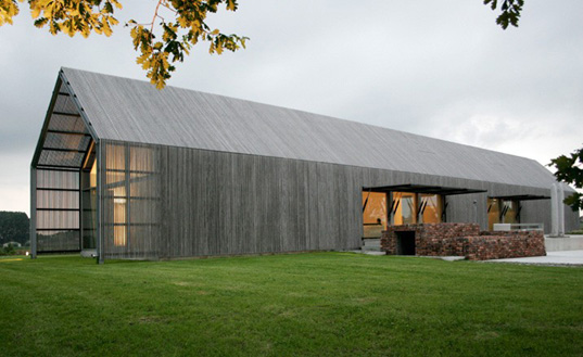 Beautiful Building Reuse The Barn House In Belgium