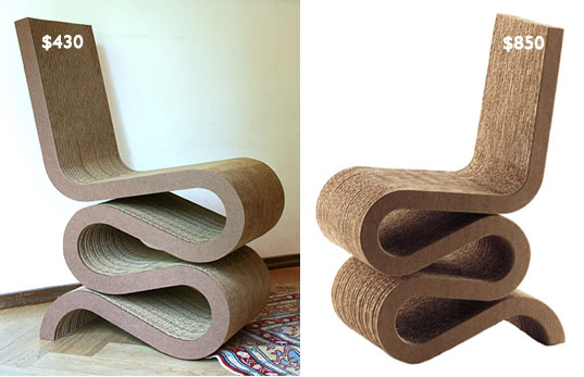 CURVY CORREGATED CARDBOARD CHAIR | Inhabitat   Green Design, Innovation,  Architecture, Green Building