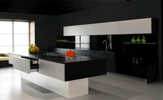 ICFF SNEAK PEEK: Bazzèo Gorgeous Green Kitchens