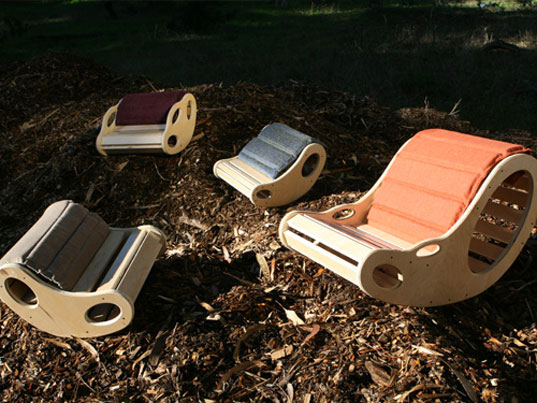 Bean Rockers, Knoend, Lite2Go, Sustainable Furniture Design, Sustainable Home Accessories